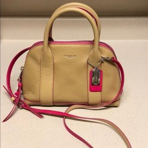 Coach Crossbody and Hand Bag